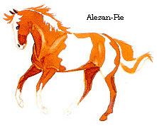 Alezan-Pie